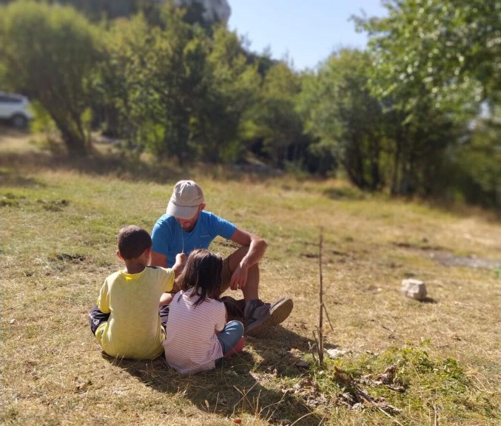Conoscere la natura nel bosco della Manferrara