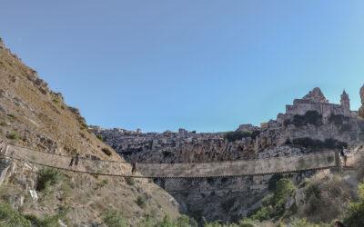 Ponte Tibetano di Matera: fra Sassi e gravina per scoprire il Parco Murgia