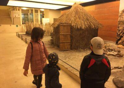 Ricostruzione della Capanna Neolitica presso il Museo Ridola di Matera