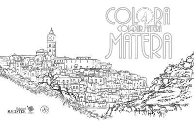 Colora Matera: scoprire la città con disegni da colorare