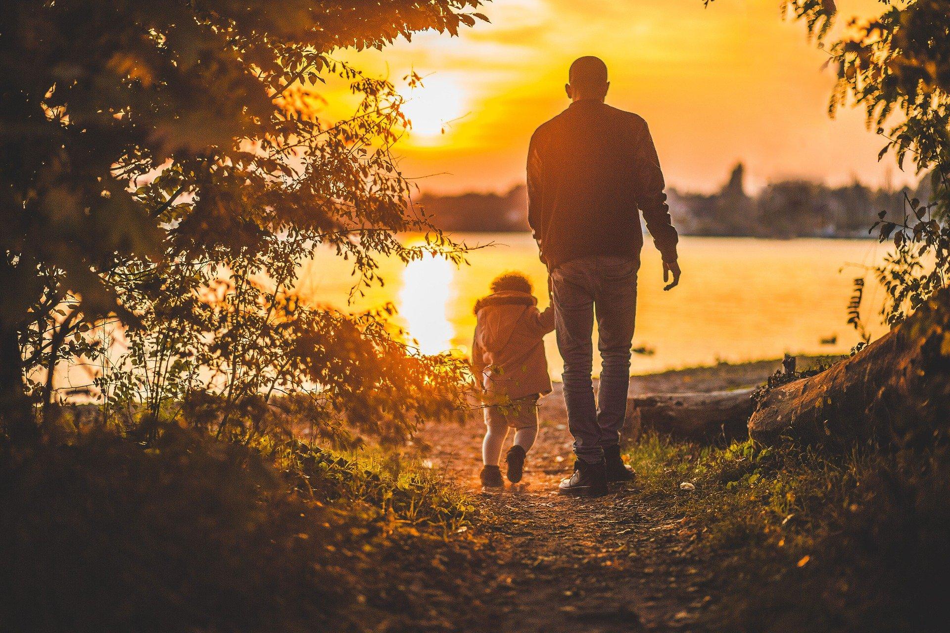 Escursione al tramonto per famiglie