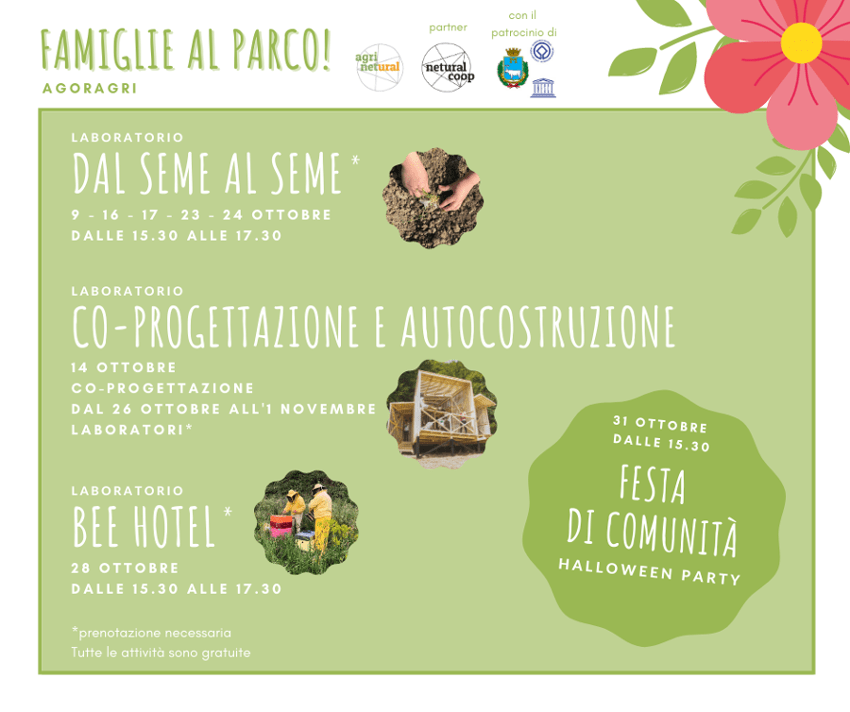 Read more about the article Famiglie al parco ad Agoragri