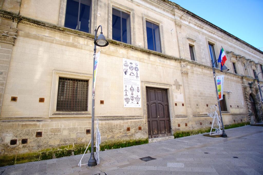 Ingresso del Museo Nazionale di Matera