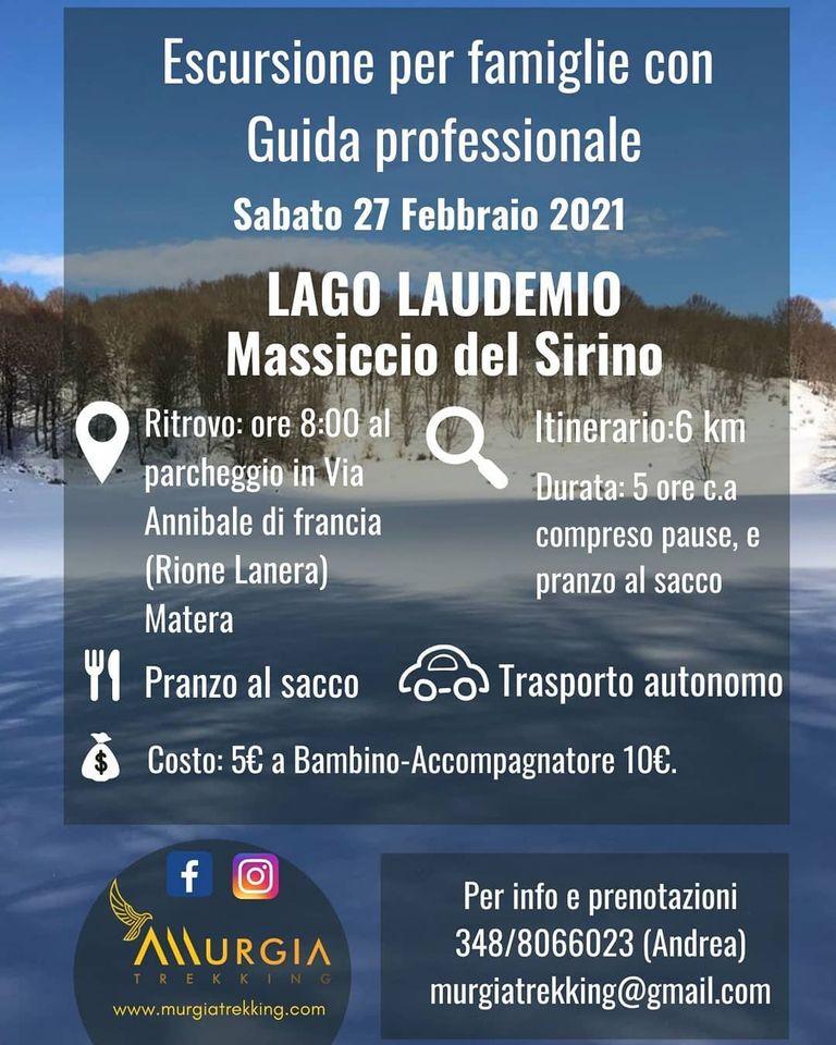 Escursione per Famiglie - Lago Laudemio - Sirino