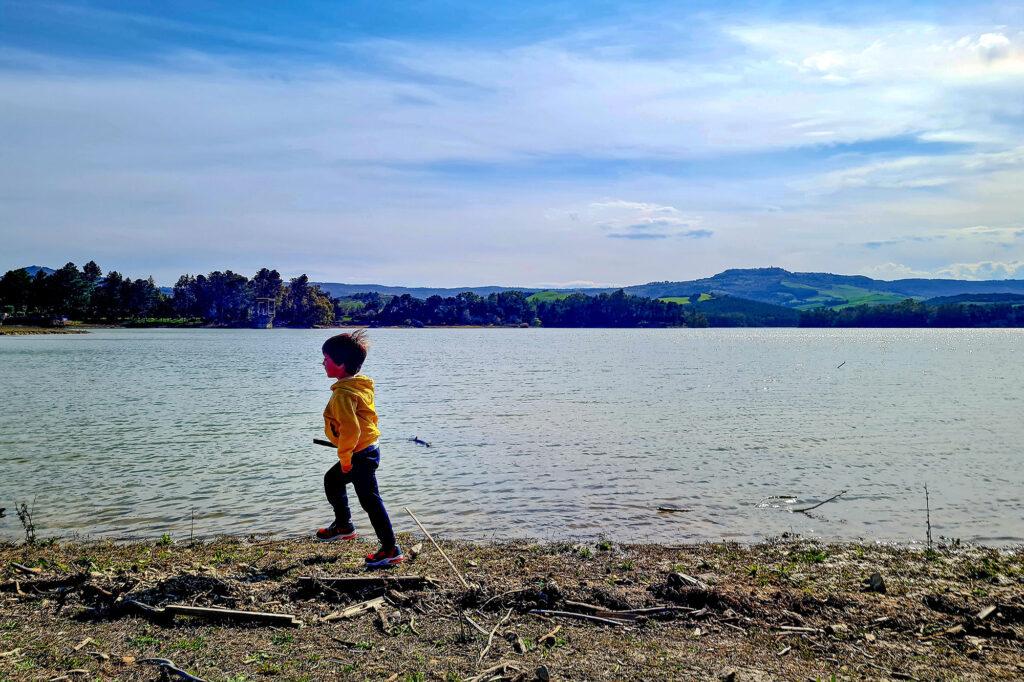 Mini Escursione Bambini Diga di San Giuliano