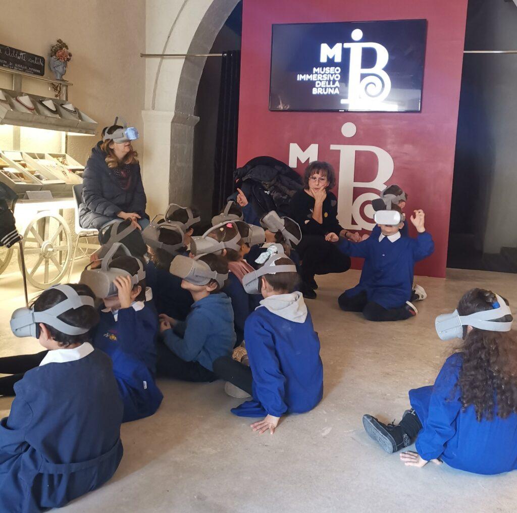 Visita al MIB – Museo Immersivo della Bruna