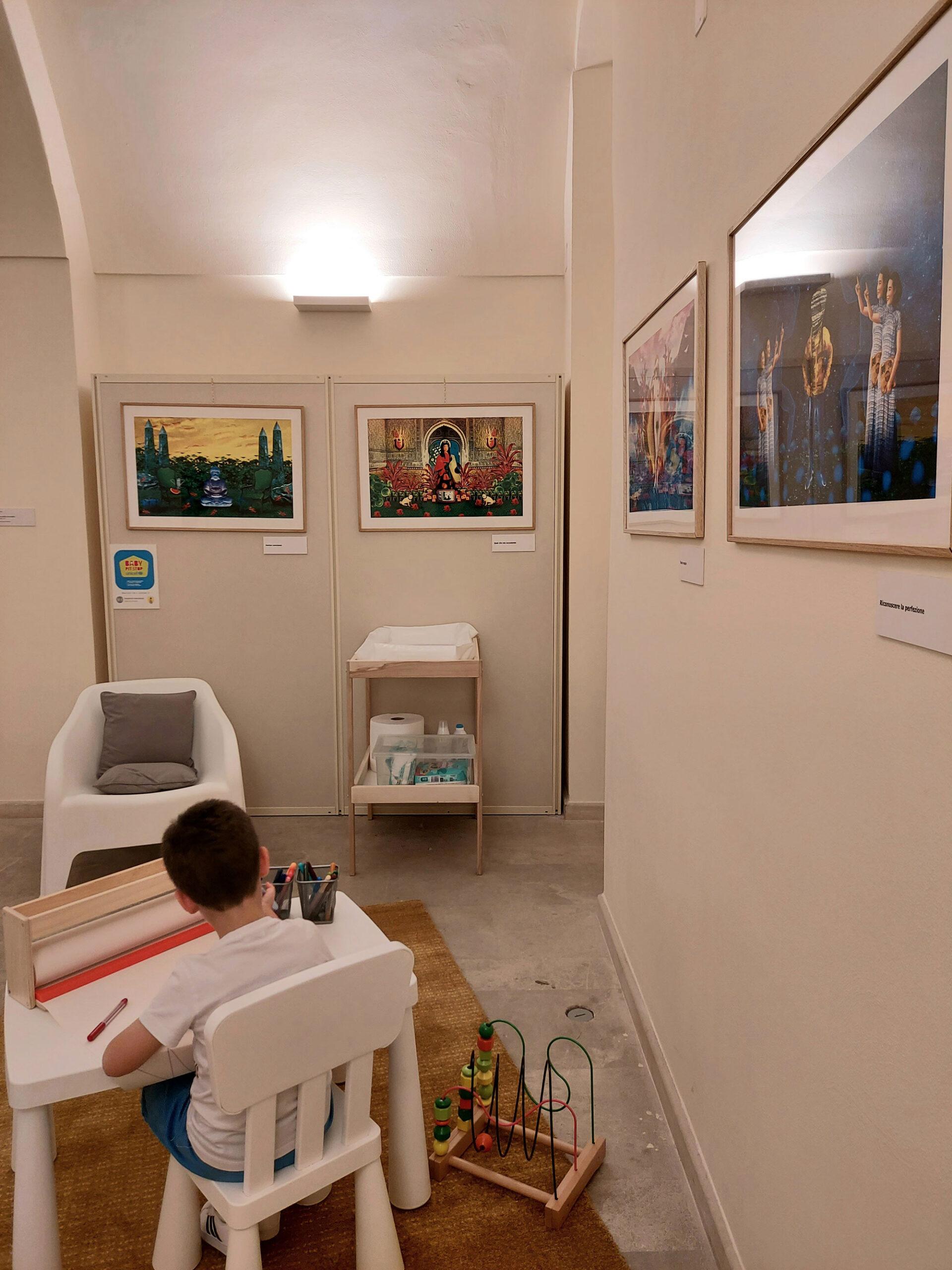 Baby Pit Stop nel Museo Nazionale di Matera