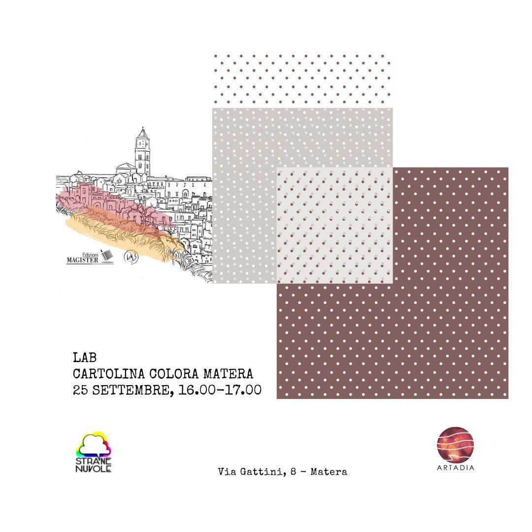Primo LAB Cartolina Colora Matera